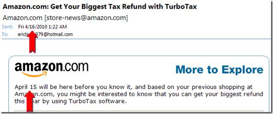 AmazonSpam